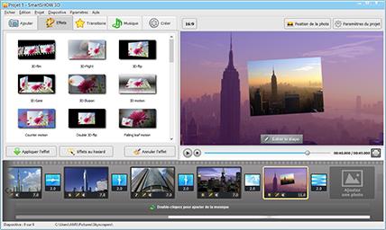 Meilleur logiciel pour faire un diaporama smartshow 3d for Logiciel paysagiste 3d professionnel