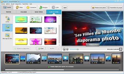 Logiciel diaporama photo gratuit a telecharger for Logiciel 3d gratuit francais